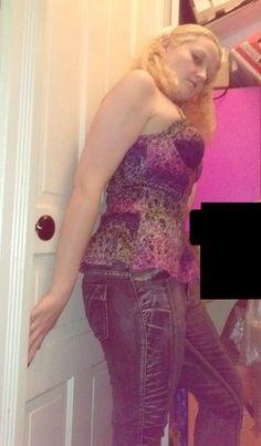 Nicki Minaj Peplum Bra Top -Kmart, Luxury Blues acid wash jeans-Dots http://missemmamm.com/2014/04/16/stylefileminaj/