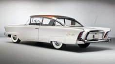 I have always like the back fins of a car.  1954 Mercury XM-800 Dream Car