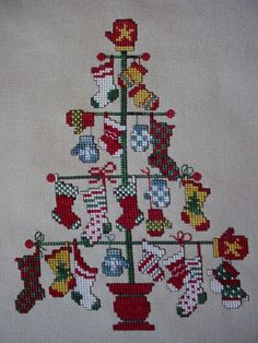 stitch xxx, stock tree, crossstitch, cross stich christmas, christma tree