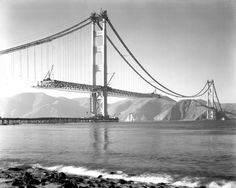 """This year marks the 75th anniversary of an icon.  When it opened in 1937, the Golden Gate Bridge was the longest suspension bridge ever built, constructed in one of the world's most challenging settings. For the men who poured the concrete, and drove in each steel rivet, it was a life changing experience."""