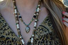 Lovely layered Luxdivine necklaces