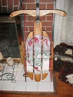 tole paint, paint heirloom, decor paint, paint craft, paint sled