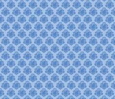 TARDamask fabric  fabric by travale on Spoonflower - custom fabric
