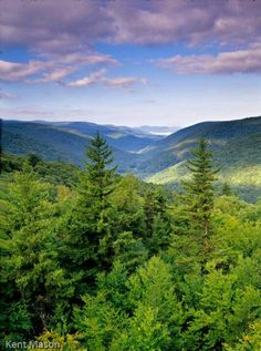 Central Appalachian Mountains in WV