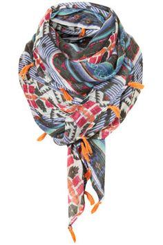 tassel scarf