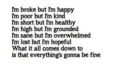 hands in pockets lyrics