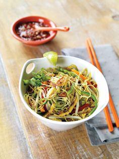 Sunny Noodle Stir-Fry