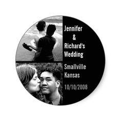 Custom Wedding Magnet
