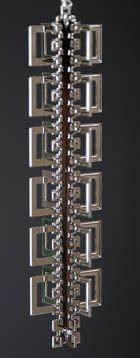 Frank Lloyd Wright - Hollyhock Wrightsicle $33