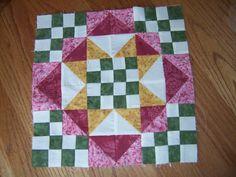 Winston Ways Block - Bonnie Hunter pattern