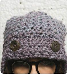 Мастер класс женская шапка ушанка крючком