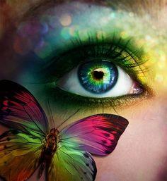 For the love of butterflies. rabbit hole, beauti eye, butterfli eye, color