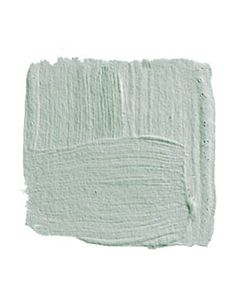 "BENJAMIN MOORE COLONY GREEN 694: ""I grew up in a house that was all turquoise, and for years I couldn't look at blue. But this color is so terrifically pretty and filled with joy — sort of like you were inside a robin's egg looking out into the light. I'd use it in a bedroom with white lacquered trim, a four-poster bed lacquered white, and crisp white bed linens."" -David Kleinberg"
