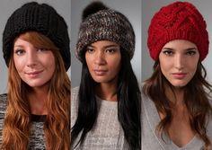 модная вязаная шапка - Яндекс.Картинки #yandeximages