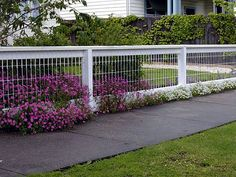 Yard Fence Ideas | Wire Fencing Designs for Your Front Yard Wire Fencing Designs Non ...