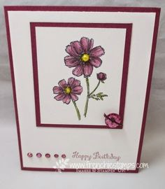 Stamp & Scrap with Frenchie: Coloring Jewels with Blendabilites