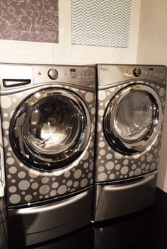 Whirlpool Duet Custom Design Series: Now you can get washer/dryers to suit your style.