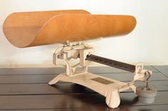 Antique Detecto Baby Scale with Wood Cradle