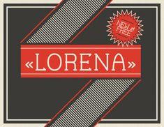 Font - Lorena