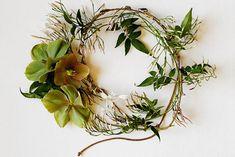 pretty hair wreath...