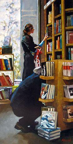 30 de novembre 2012: Dia de les Llibreries  Aprofita: entra, tria i llig!  (il·lustració de Karin Jurick)