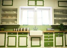 spice up kitchen 'old' cabinets