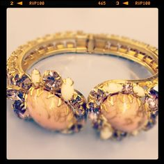 #A vintage Carole Tanenbaum bracelet... amazing! Austin Wedding Planner  women ring #2dayslook #new #ring #nice  www.2dayskook.com
