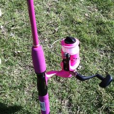 That would be awesome a hot pink fishing pole!