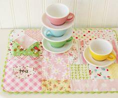 tea time place mat