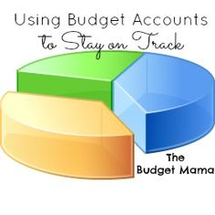 Using Budget Accounts - The Budget Mama