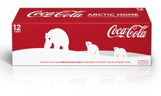 Coca-Cola is turning its iconic red cans white in celebration of the polar bear and committing up to $3 million to WWF's polar bear conservation efforts.