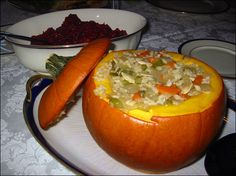 Stuffed Thanksgiving Pumpkin