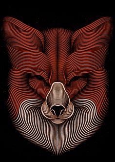 New Line-Art Illustrations by Patrick Seymour