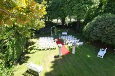 The Residence Garden Ceremony www.thegeorge.com