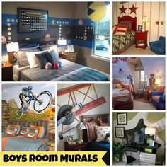 Cool Murals for Boys Rooms