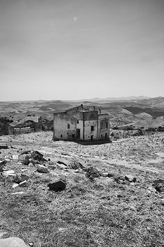 I would like my own ghost town in Italy. the ghost town of Craco (Matera).
