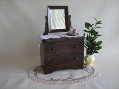 Vintage Doll Furniture  RARE   Hall's Dresser w/ Tilt by TheToyBox