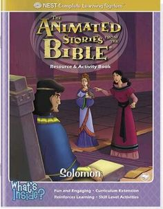 Solomon Activity And Coloring Book - Instant Download 1.34 (These are great, they have pictures to color, assorted activities, and no edge lines since you are not copying from a book!)
