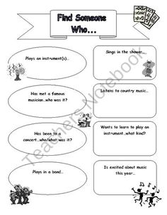 A Simple Get-To-Know-You Beginning of the Year Ice Breaker for the Elementary Music Classroom.