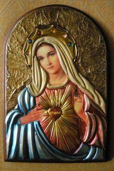 """""""No silêncio, na escuta assídua da Palavra e com a sua união íntima com o Senhor, Maria tornou-se instrumento de salvação, ao lado de seu divino Filho Jesus Cristo"""" (Beato João Paulo II)"""