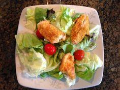 Recipe: Almond Chicken Satay Salad ~ Trendy Mom Reviews #Recipe #Salad #Chicken