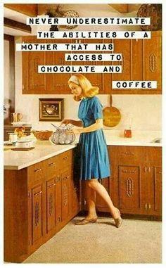 Chocolate + Coffee = Superpowers!