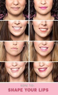 Get a more defined lip shape with just two products.