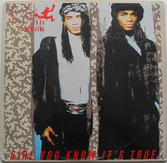 Milli Vanilli - Girl You Know It's True LP - 1989  #80s
