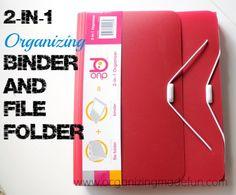 Duo Organizer Binder