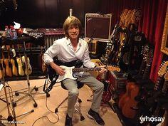 Rolling Stones in Paris Recording Studio