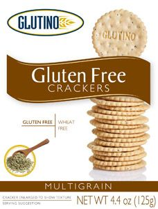 The Multigrain Crackers by Glutino are the best GF crackers around ...