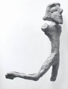 Dancer Horvat Qitmit Iron Age II, late 7th - early 6th century BCE Pottery H: 17.5 cm Israel Antiquities Authority