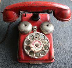 Old telephone.@Deidra Brocké Wallace