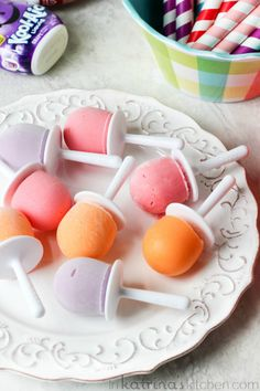 Yogurt Pops- just like when you were a kid, but packed with protein and Greek Yogurt!